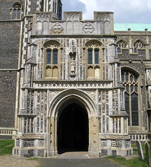 The south porch (c.1490), Church of St Edmund, Southwold, Suffolk, England