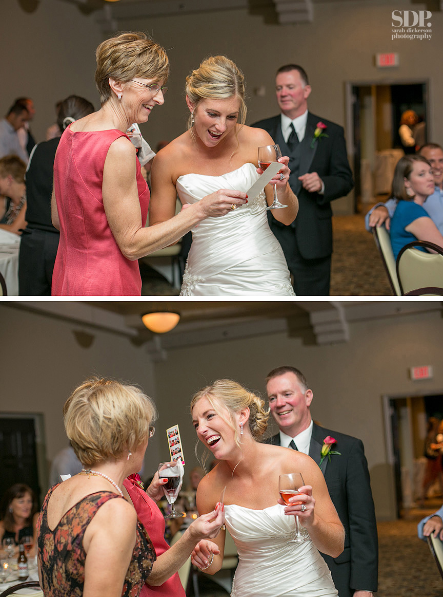 Lake Quivira Country Club wedding reception