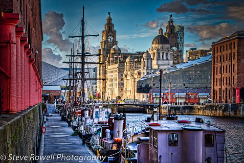 Albert Dock and the Three Graces.