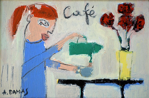 The little painting - ''Café'' by good mood factory / Anita Damas
