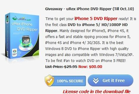 iPhone DVD Ripper giveaway