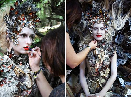 Kirsty Mitchell butterflies