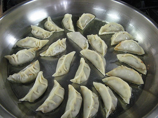 Gyoza (Japanese Potstickers) from New School of Cooking, Culver City, CA