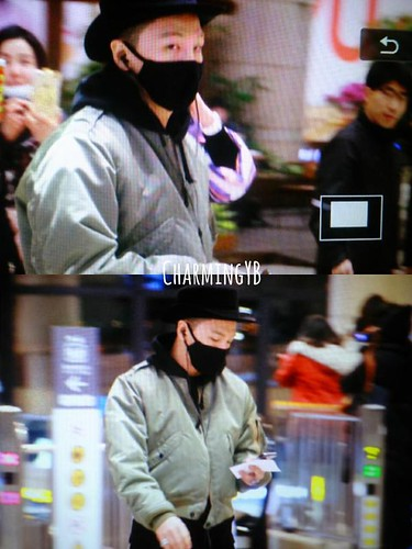 Big Bang - Gimpo Airport - 27feb2015 - Tae Yang - charmingyb - 02
