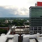 Downtown Raleigh Rainbow Panorama