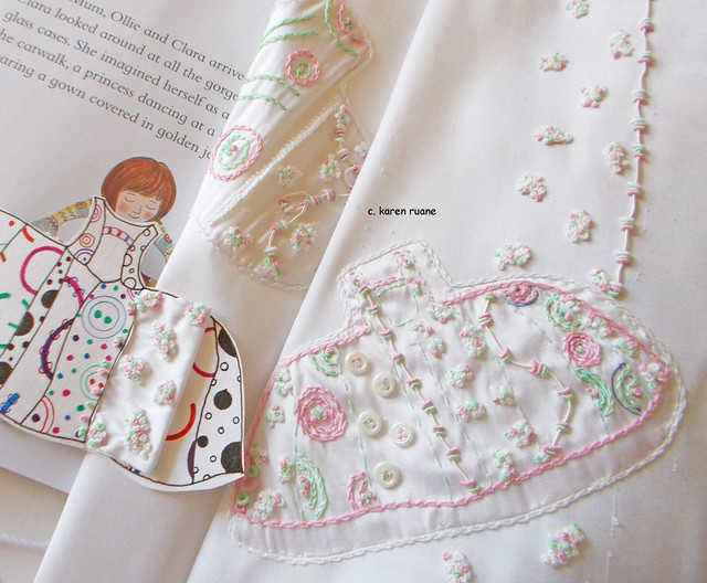 Storybook stitching