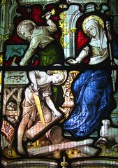 Christ in the carpenter's workshop