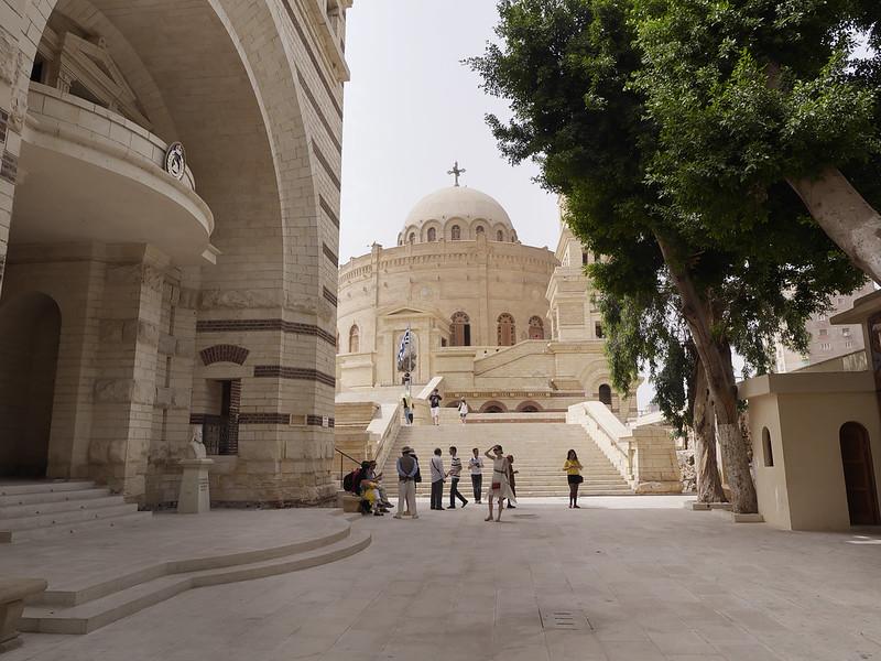 Monasterio e Iglesia de San Jorge, El Cairo, Egipto