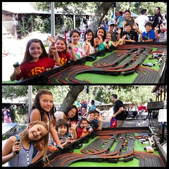 Pictures from earlier today with Racing Party Events. #racingpartyevents #mobileslotcarracing #mobileslotcarparty #slotcar #slotcars #birthdayfun #birthday #birthdayparty #birthdaypartyfun #slotcarracingparty #childrengames #childrengamespeopleplay #kidsb