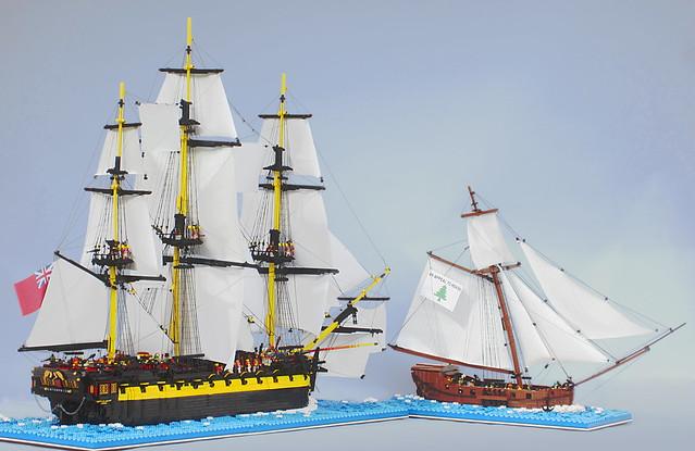 HMS Enterprize vs. Oliver, Canon POWERSHOT ELPH 300HS