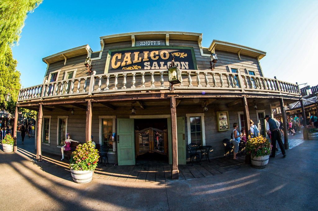 Knotts Calico Saloon