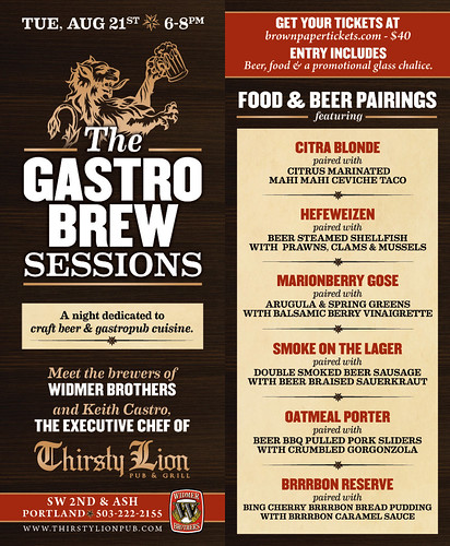 The Gastro Brew Sessions @ Thirsty Lion