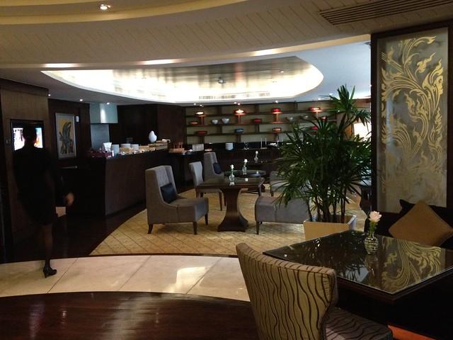 club room 24th floor - Hotel Grand Millennium Sukhumvit (Bangkok, Thailand)