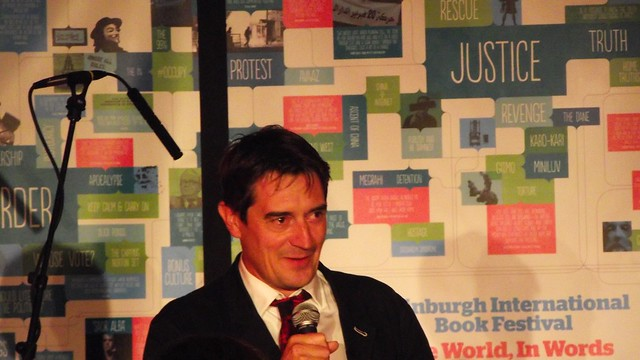Edinburgh International Book Festival launch party 04