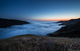 Above the Fog in Big Sur, CA