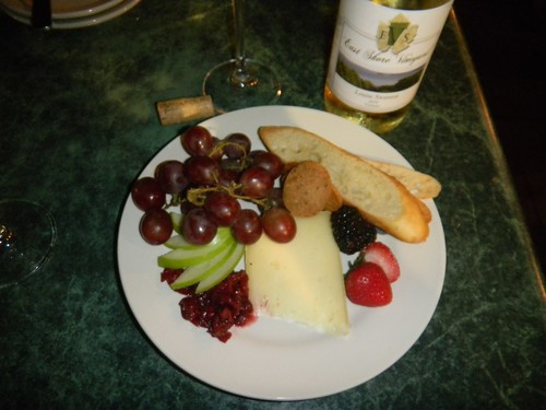 VT cheese and wine
