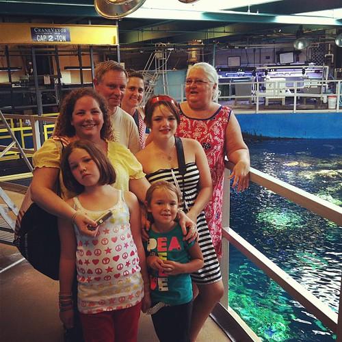 Behind the scenes @aquariumpacific