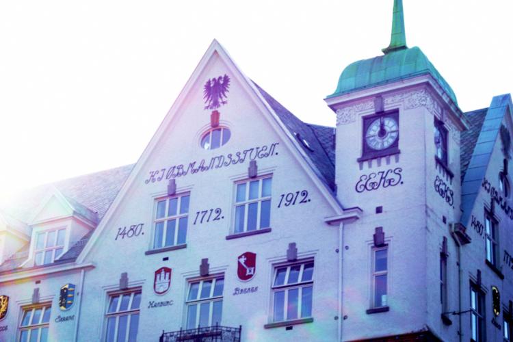 beautiful building, bergen
