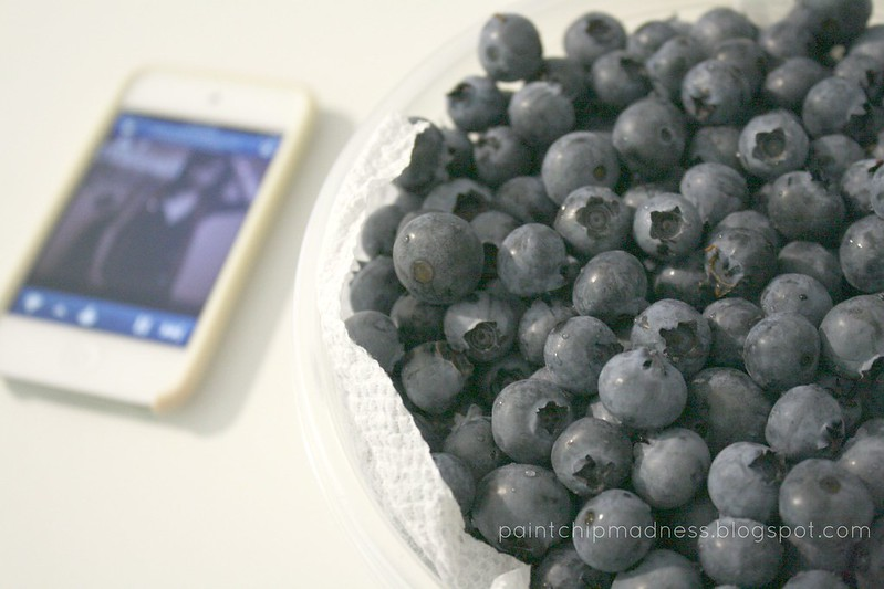 music + berries