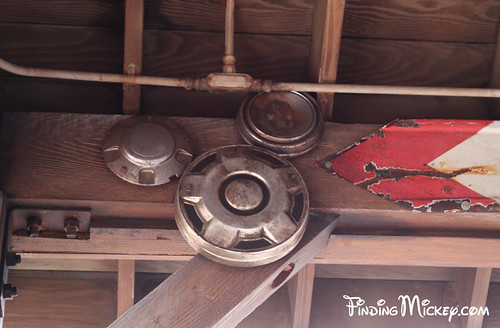 Mater's Junkyard Jamboree - Hub Cap Hidden Mickey