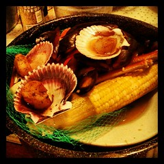 Dinner at Joe's Crab Shack #yumo #dinner #crab #food #steampot #sodelicious