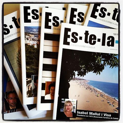 Salvem la revista Estela de #calella #Maresme 66 anys d'història local #premsa #catalunya #igers #igerscalella #igersmaresme