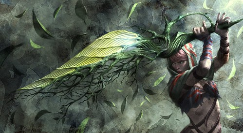 Soul Sacrifice - Plant Sword