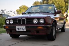 executive car(0.0), sports sedan(0.0), bmw 3 series (e30)(0.0), coupã©(0.0), automobile(1.0), automotive exterior(1.0), wheel(1.0), vehicle(1.0), performance car(1.0), automotive design(1.0), bmw 315(1.0), bmw 3 series (e36)(1.0), bumper(1.0), sedan(1.0), land vehicle(1.0), luxury vehicle(1.0), convertible(1.0), sports car(1.0),