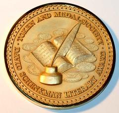 TAMS Schenkman medal obv