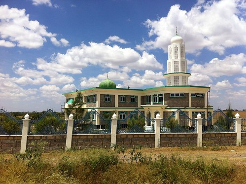Mosque between Tanzania and Kenya