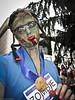 Zombie Cyclist by Laríssa