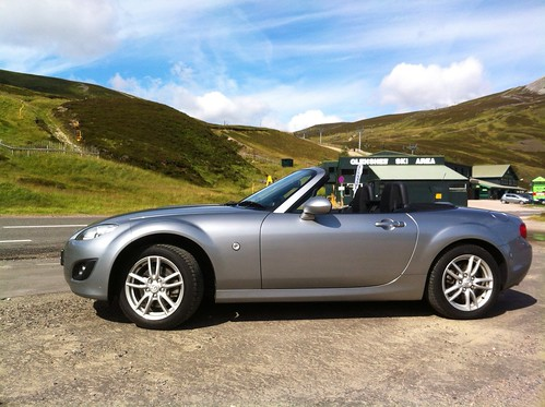 MX-5 at Glenshee