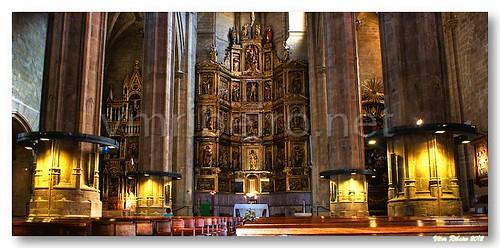Igreja de S. Vicente, em San Sebastian by VRfoto