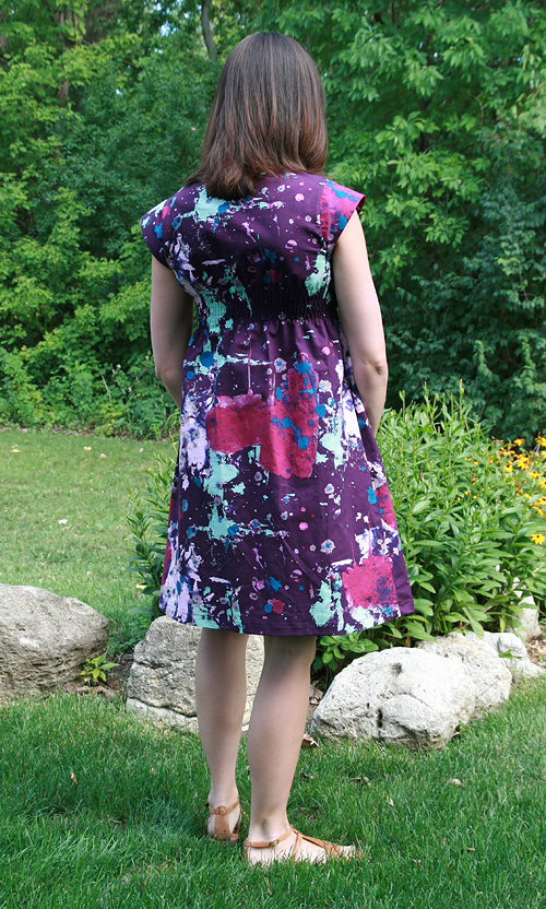 Washi Dress Back