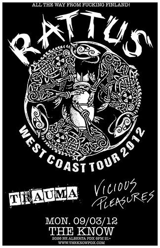 9/3/12 Rattus/Trauma/ViciousPleasures