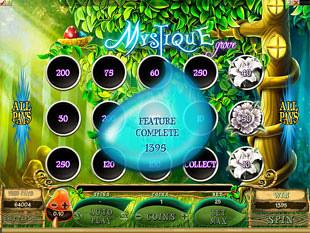 Mystique Grove Bonus Prize