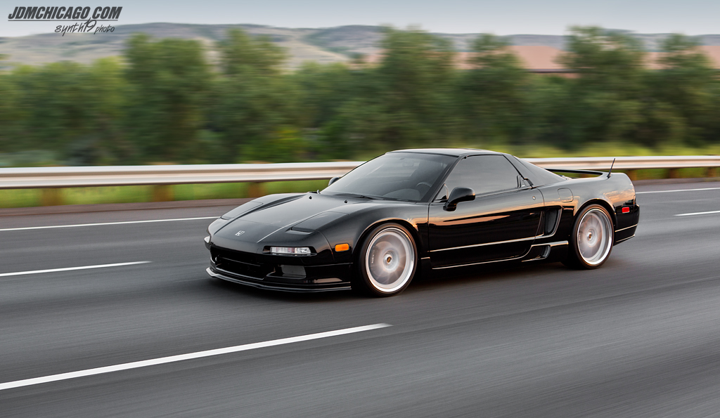 """FLAWLESS""- Bob's 1991 Berlina Black NSX"