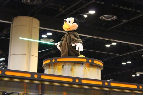Disney booth - Star Wars Celebration VI