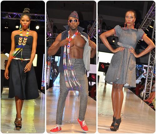 Black Pepper at Tigo Glitz Africa Fashion Week