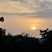 Sunset on the way to Goa