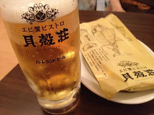 生ビールはハートランド@貝殻荘 青物横丁店