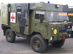 army, military vehicle, vehicle, truck, land rover 101 forward control, armored car, off-road vehicle, military,