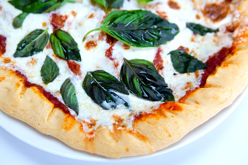 Homemade Classic Margherita Pizza