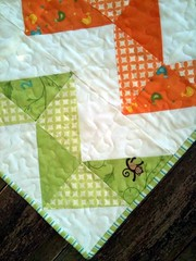 Close up of ZigZag Quilt