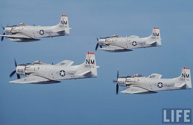 1965 Bon Homme Richard Air Strikes