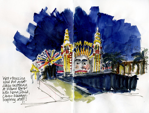 120831 Luna Park- Just for Fun sketching
