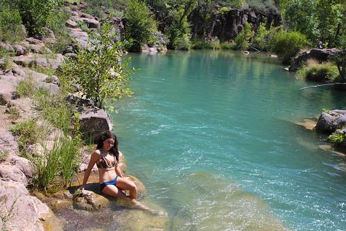 arizona sexy water swimming fun christy hole az sunbathing fossilcreek img1182 grantbrummett
