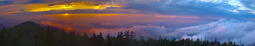 sunset mountains clingmansdome greatsmokymountainsnationalpark appalacian gsmnp absolutelystunningscapes cpsbcompetiion2nd