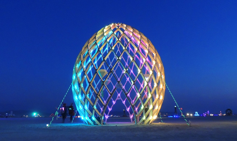 Burning Man 2012 - Egg