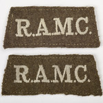 Royal Army Medical Corps uniform badges